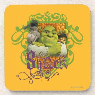 Shrek Group Crest Coaster