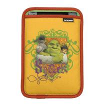 Shrek Group Crest iPad Mini Sleeve