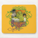 Shrek Group Crest Mouse Pad