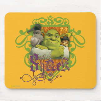 Shrek Group Crest Mouse Pad