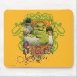Shrek Group Crest Mousepads