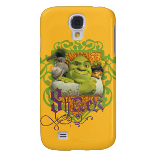 Shrek Group Crest Samsung S4 Case