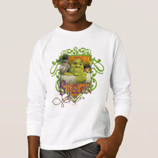 Shrek Group Crest T-Shirt