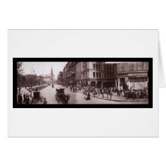 Shreve Store Boston, MA Photo 1903 Greeting Card