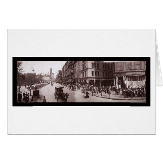 Shreve Store Boston, MA Photo 1903 Card