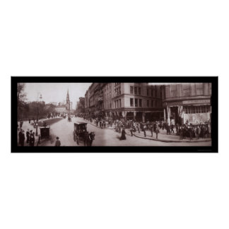 Shreve Store Boston, MA Photo 1903 Poster