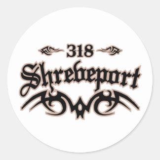 Shreveport 318 pegatinas