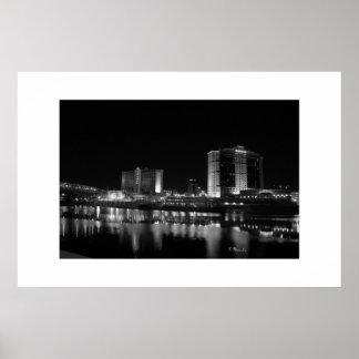 Shreveport, casinos del LA y orilla del río céntri Póster