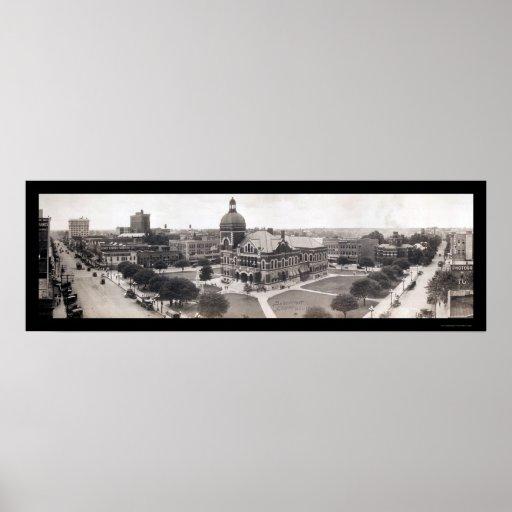 Shreveport Courthouse Photo LA 1919 Poster