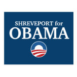 SHREVEPORT for Obama custom your city personalized Postcard