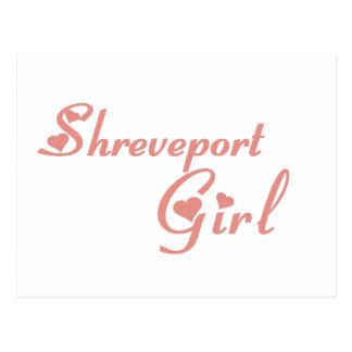 Shreveport Girl tee shirts Post Cards