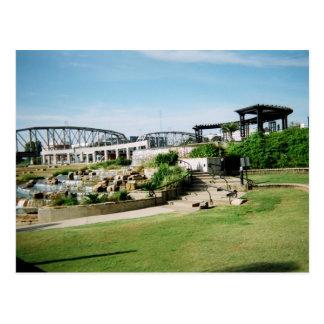 Shreveport, postal de la orilla del río del LA