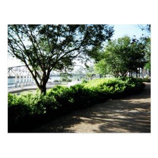 Shreveport Riverfront Postcard