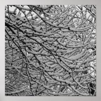 Shreveport Snowfall Poster