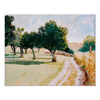 'Shrewsbury Apple Trees 1987' Print