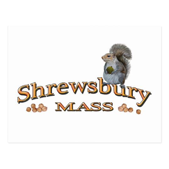 Shrewsbury logos postcard