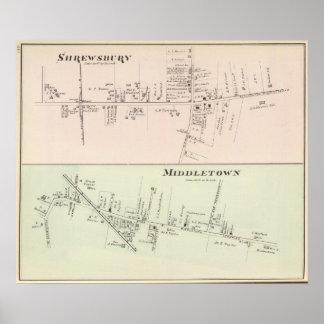 Shrewsbury Middletown, New Jersey Poster