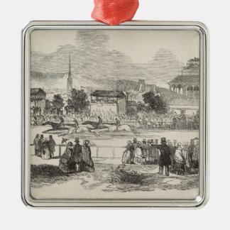 Shrewsbury Races,'The Illustrated London News' Metal Ornament