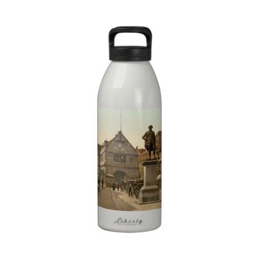 Shrewsbury Square, Shropshire, England Water Bottle