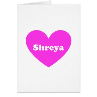 Shreya Card