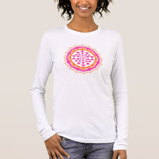Shri Chakra Yantra - cosmic conductor of energy Long Sleeve T-Shirt