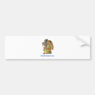 Shri Shri Radha Krishna Car Bumper Sticker
