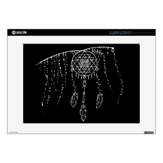 """Shri Yantra and a Dream Catcher. Skins For 15"""" Laptops"""