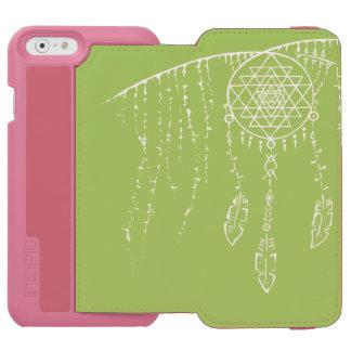 Shri Yantra/caja ideal de la cartera de Iphone 6 Funda Billetera Para iPhone 6 Watson