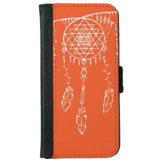 Shri Yantra/caja ideal de la cartera de Iphone 6 Funda Cartera Para iPhone 6