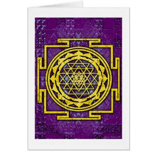 Shri Yantra Cards