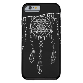 Shri Yantra/caso ideal de Iphone 6 del colector Funda De iPhone 6 Tough