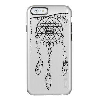 Shri Yantra/caso ideal de Iphone 6 del colector Funda Para iPhone 6 Plus Incipio Feather Shine
