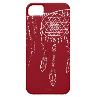 Shri Yantra/caso ideal de Iphone 6 del colector iPhone 5 Fundas