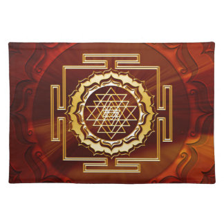 Shri Yantra - conductor cósmico de la energía Manteles