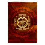 Shri Yantra - Cosmic Conductor of Energy Greeting Card