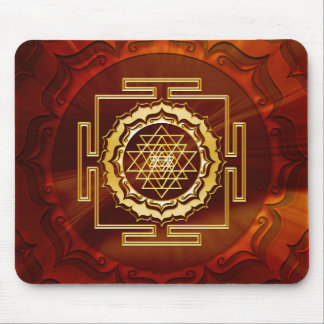 Shri Yantra - Cosmic Conductor of Energy Mouse Pad