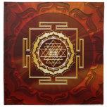 Shri Yantra - Cosmic Conductor of Energy Napkins