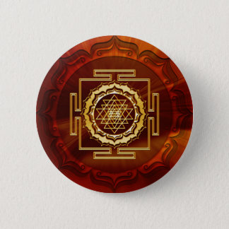 Shri Yantra - Cosmic Conductor of Energy Pinback Button