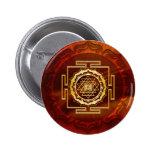 Shri Yantra - Cosmic Conductor of Energy Pinback Button