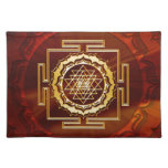 Shri Yantra - Cosmic Conductor of Energy Cloth Place Mat