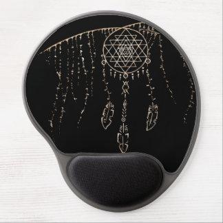 Shri Yantra / Dream Catcher Gel Mouse Pad