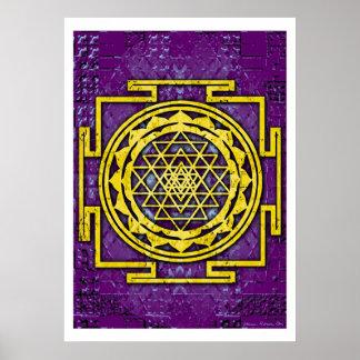 Shri Yantra Poster
