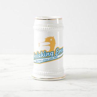 Shrieking Emu Team Stein 18 Oz Beer Stein