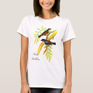 Shrike Babbler vintage illustration by Gould T-Shirt