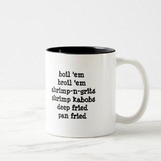 Shrimp-a-holic Two-Tone Coffee Mug