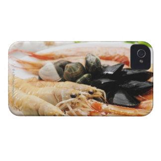 Shrimp and mussels iPhone 4 cover