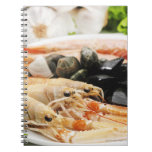 Shrimp and mussels note books