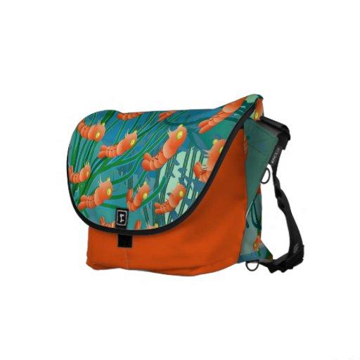 shrimp bag courier bag