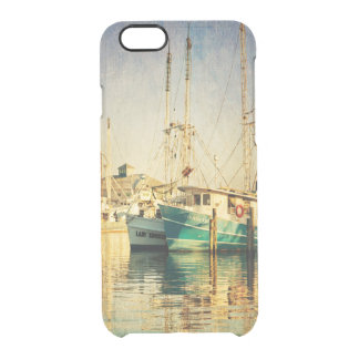 Shrimp Boat at the Harbor Uncommon Clearly™ Deflector iPhone 6 Case
