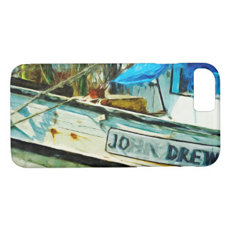 Shrimp Boat John Drew Abstract Impressionism iPhone 8/7 Case